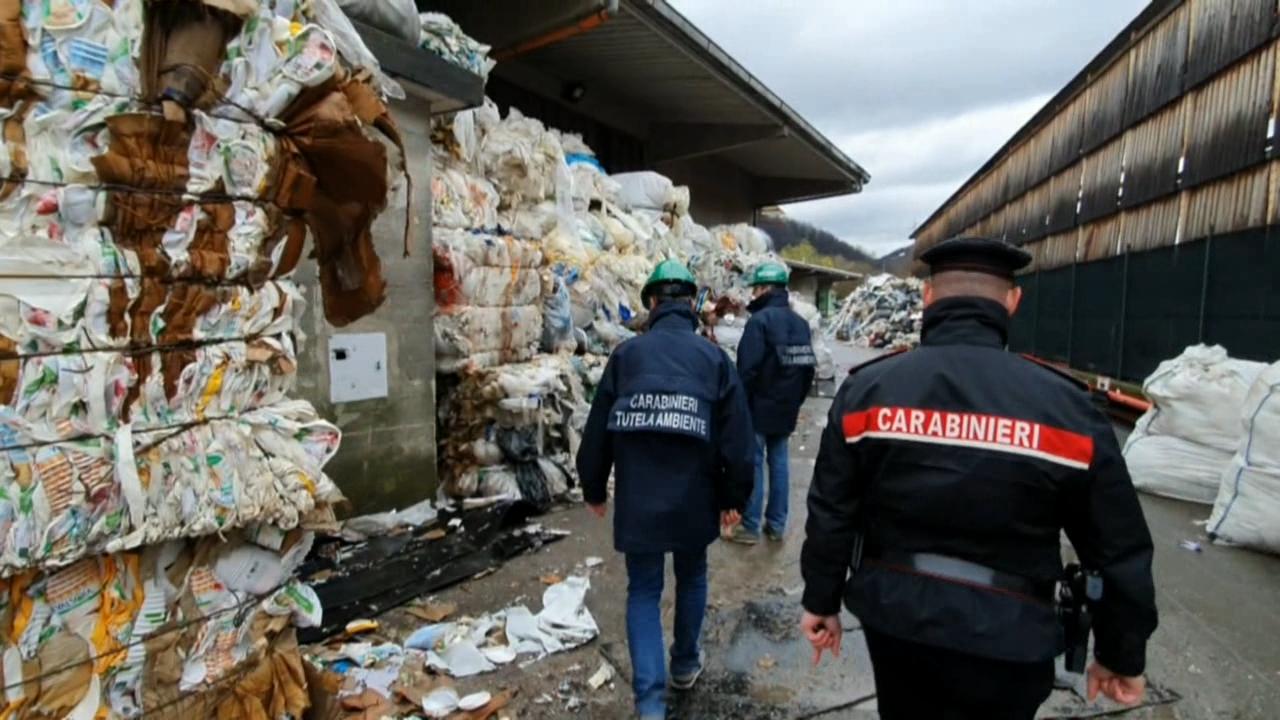 Incendi di rifiuti, sequestrate 6500 tonnellate - Il Torinese
