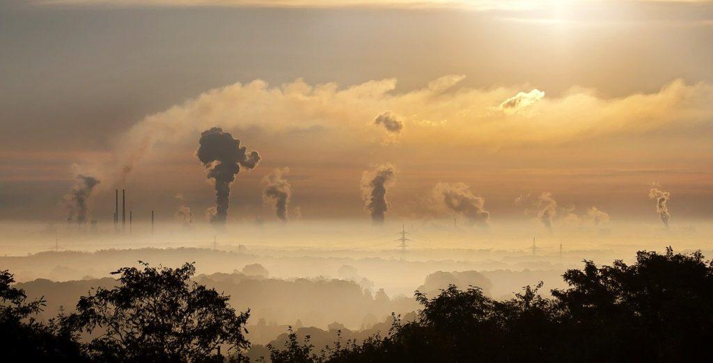 Città con smog