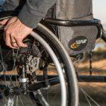 Sedia a rotelle disabili