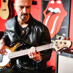 Luca Vicini bassista dei Subsonica