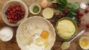 crostata di ciliegie fresche ingredienti