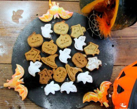 biscotti di halloween presentazione