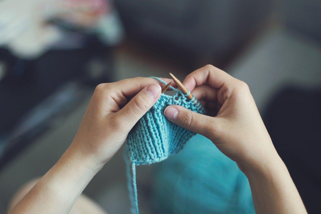 brodarìa lavorare a maglia