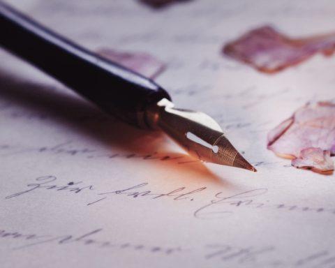 penna calligrafia